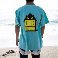 *TEAM DREAM* what's up chuck tee (teal)