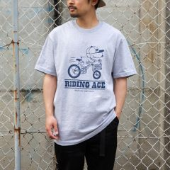 *BLUE LUG* riding ace t-shirt (gray)