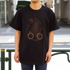 *BLUE LUG* bear family t-shirt (black)