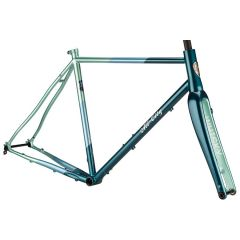 *ALL CITY* cosmic stallion frame set (blue/green stripe)