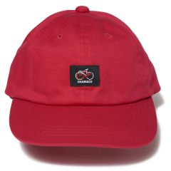 *CHARI&CO* cycle logo polo cap (red)