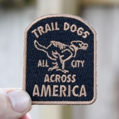*ALL CITY* trail dogs across america patch