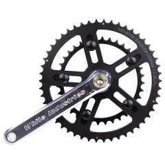 *WHITE INDUSTRIES* VBC road crank (silver)