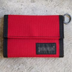 *BLUE LUG* bike wallet (red)