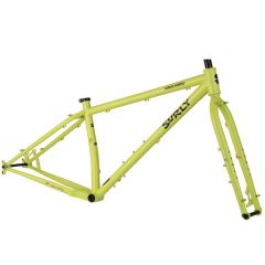 *SURLY* karate monkey BST frame&fork set (lemon lime)