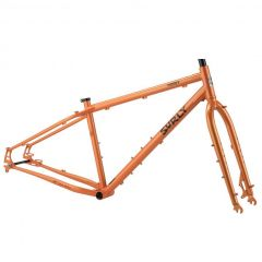 *SURLY* pugsley frame&fork set (candied yam orange)