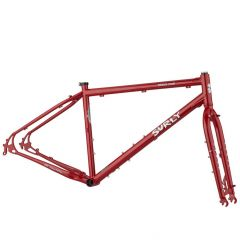 *SURLY* bridge club frame set (grandma's lipstick)