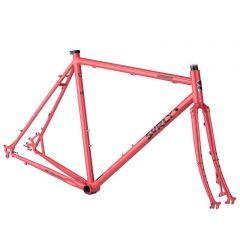 *SURLY* straggler 700C frame&fork set (salmon candy red)