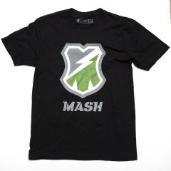 *MASH* og reflective t-shirt (black)