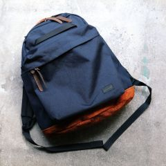 *BLUE LUG* THE DAY PACK (navy/suede)