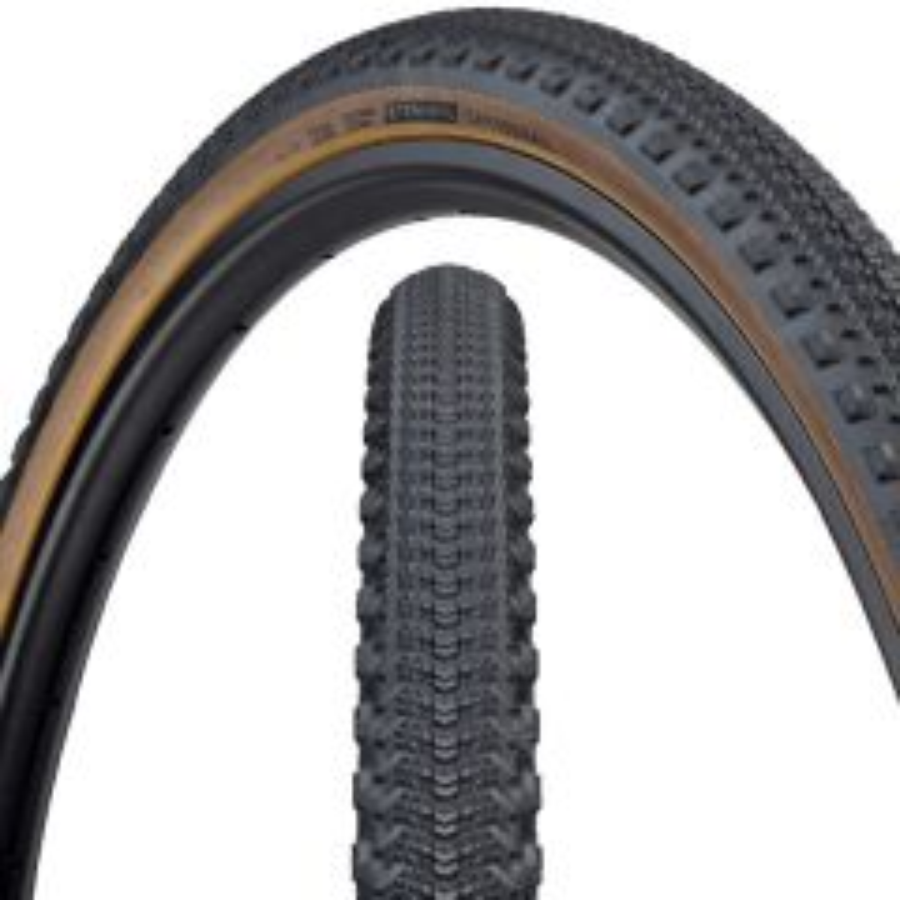 *TERAVAIL* cannonball tire (black/tan)