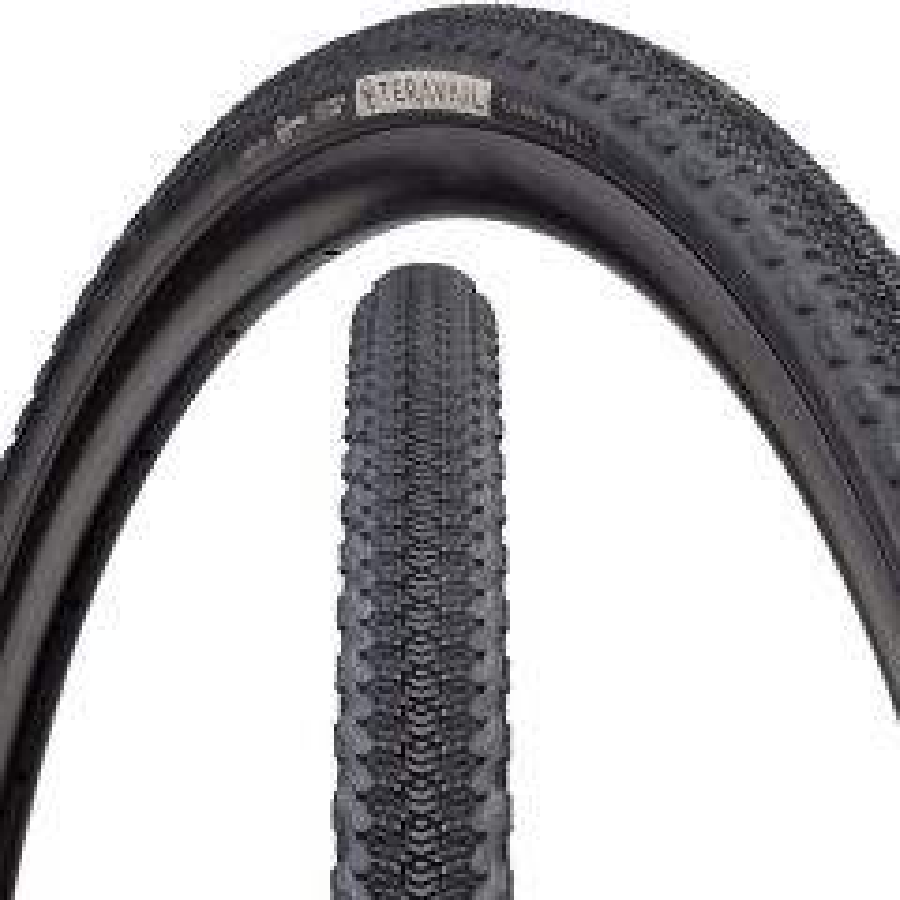 *TERAVAIL* cannonball tire (black)